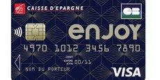 L'offre Enjoy by Caisse d'Epargne comprend une carte Visa Classic « à contrôle de solde »