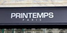 La direction du groupe Printemps a annoncé la signature d'un accord qui entérine la fermeture de quatre magasins, dans un communiqué.