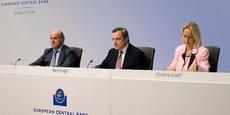 Les risques liés à la montée du protectionnisme, les vulnérabilités des marchés émergents et la volatilité des marchés financiers ont gagné en importance récemment, a relevé Mario Draghi, le président de la BCE, ce jeudi 13 septembre.