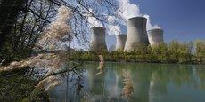 La centrale nucléaire de Bugey dans l'Ain, au bord du Rhône, est situé à 25 km de Lyon.