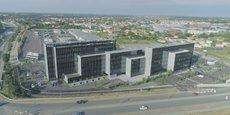 Stelia Aerospace a emménagé dans un bâtiment de 15 000 m2 à Colomiers.