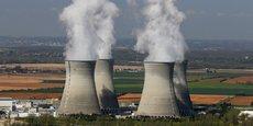 Vue de la centrale nucléaire du Bugey, proche de Lyon.