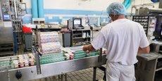 L'usine toulousaine Yéo Frais produit 560 millions de pots de yaourts par an.