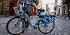 Les vélos électriques V3 seront de couleur bleue, pour les différencier du reste de la flotte