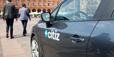 À Toulouse, la coopérative Citiz compte 3 000 abonnés pour 65 véhicules. (Crédit : Bryan Faham)