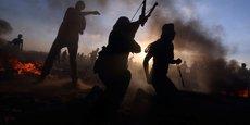UN PALESTINIEN TUÉ À LA FRONTIÈRE DE GAZA