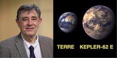 Jean-Loup Bertaux (CNRS) étudie depuis une cinquantaine d'années les planètes.
