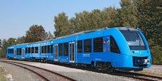 Le train à hydrogène développé par Alstom, le Coradia iLint, circule actuellement en Allemagne.