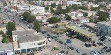 Nouakchott, la capitale de la République de Mauritanie.