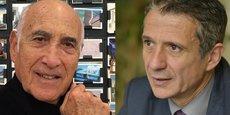 Alain Sarfati et Alain Cluzet.