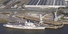 Terminal de Bassens du Grand port maritime de Bordeaux.
