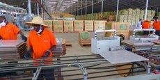 La nouvelle unité de fabrication de céramique est située à Liao Shen, le premier projet de parc industriel provincial (Kapeke-district de Nakaseke) en Ouganda.
