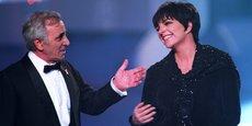 En avril 1994, Charles Aznavour et la chanteuse américaine Liza Minnelli -dont il a été le mentor à une époque de sa vie-, en duo à la télévision française pour une campagne de lutte contre le fléau du Sida.