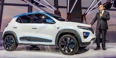 Avec le K-ZE, Carlos Ghosn espère s'imposer en Chine, premier marché mondial de la voiture électrique.