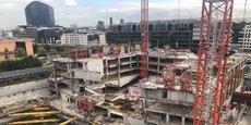 Le chantier du nouveau siège social d'Orange sera terminé à l'été 2020.