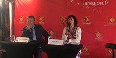 Carole Delga, présidente de Région, présente les axes de la votation à venir
