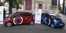À Paris, Free2Move proposera une flotte de voitures en libre-service composée de Peugeot Ion et Citroën C-Zéro, des voitures 100% électrique.