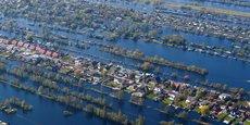 Les Pays-Bas sont particulièrement vulnérables aux conséquences du réchauffement climatique, près d'un tiers du pays se trouvant en dessous du niveau de la mer.