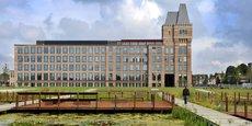 Le pôle Euratechnologies (ici, à Lille), fer de lance économique des Hauts-de-France, accueille 170 entreprises, 3.800 salariés et des centaines de projets incubés.