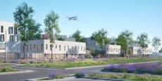 Le programme Air Parc One, campus tertiaire réalisé par CFC Développement aux portes de l'aéroport de Montpellier Méditerranée, a livré son premier bâtiment en janvier.