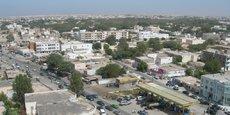 Vue de la capitale mauritanienne, Nouakchott.