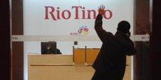 RIO TINTO: BAISSE DE 5% DE LA PRODUCTION DE MINERAI DE FER AU TROISIÈME TRIMESTRE