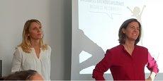Anne Brissaud (animatrice) et Marie Eloy (fondatrice) présentent le réseau Bouge ta Boite à Montpellier