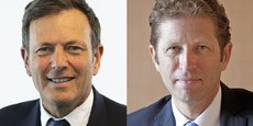 Philippe Miltin, senior vice-président d'Atos et Vincent Jauneau, vice-président de Siemens France.