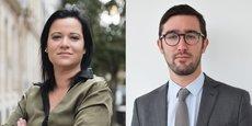 Sandrine Lebeau est responsable conformité chez Coinhouse (ex-Maison du Bitcoin), William O'Rorke est avocat-associé chez Blockchain Legal.
