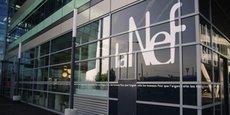 La Nef, qui fête ses 30 ans cette année, compte aujourd'hui un peu moins de 100 salariés et a affiché dernièrement 450 millions d'euros de bilan bancaire.