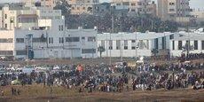 MANIFESTATIONS À LA FRONTIÈRE GAZA-ISRAËL, 77 PALESTINIENS BLESSÉS