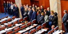MOSCOU DÉNONCE LE VOTE AU PARLEMENT MACÉDONIEN SUR LE NOUVEAU NOM DU PAYS