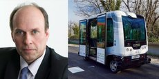 Thierry Cammal est à la présidence d'une mission sur la filière des voitures autonomes et connectées en Occitanie.