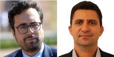 Mounir Mahjoubi et Nadi Bou Hanna, le nouveau directeur de la DINSIC.