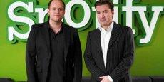 Daniel Ek et Martin Lorentzon, les fondateurs de Spotify - DR