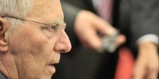 Wolfgang Schäuble, Le ministre des Finances allemand  /Copyright AFP