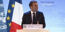 Le président de la République Emmanuel Macron a lancé un appel pour la confiance et la sécurité dans le cyberespace lors du Forum sur la gouvernance de l'Internet, qui se tient du 12 au 14 novembre à Paris.