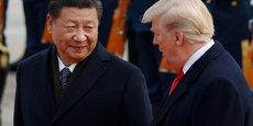 Le président Donald Trump et son homologue chinois Xi Jinping.