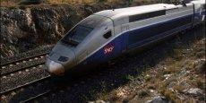 Le trafic TGV est en baisse en 2013