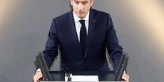 MACRON INVITE L'ALLEMAGNE À SURMONTER SES PEURS POUR RÉFORMER L'EUROPE
