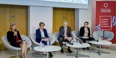 La table ronde consacrée à la mobilité lors du colloque organisé par la Banque des Territoires à Bordeaux, dans les locaux de la CCI
