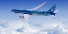 Les B787-900 d'Air Tahiti Nui sont configurés en trois classes : une classe Economique de 232 sièges, une classe Premium Economique de 32 sièges et une classe affaires de 30 sièges.