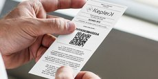 La société KeplerK a noué un accord commercial avec l'un des prestataires de logiciels de caisses des buralistes. Elle propose à la vente des « tickets recharge » d'une valeur de 50, 100 ou 250 euros, qui deviennent bitcoins en se connectant à son site.