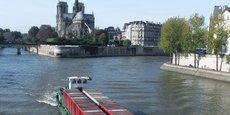 Paris, 1er port fluvial français et 2e à l'échelle de l'Europe