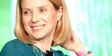 Marissa Mayer, directrice générale de Yahoo depuis le mois de juillet. Copyright Reuters