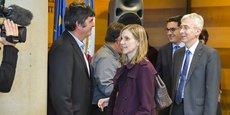 La secrétaire d'Etat Agnès Pannier-Runnacher hier lundi à la préfecture de la Gironde.