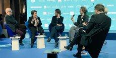 Une table ronde au forum Smart City Paris 2018.