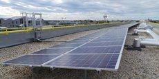 Les 260 m2 de panneaux solaires installés sur le toit de l'immeuble de Gironde Habitat ont produit 37.000 kWh en dix mois.