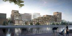 Le projet Starlette comprendra 35.000 mètres carrés de logements et de bureaux. Il sera livré en 2021.