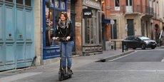 Les trottinettes électriques sont en plein essor dans le centre-ville de Toulouse.